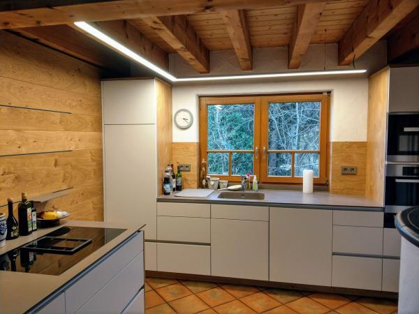 Moderne Kuchenbeleuchtung Referenzgalerien Elektro Service Huber